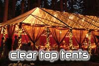 Cleartop tents!