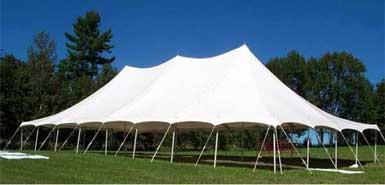 High peak pole tent rental from Amerevent in Atlanta.